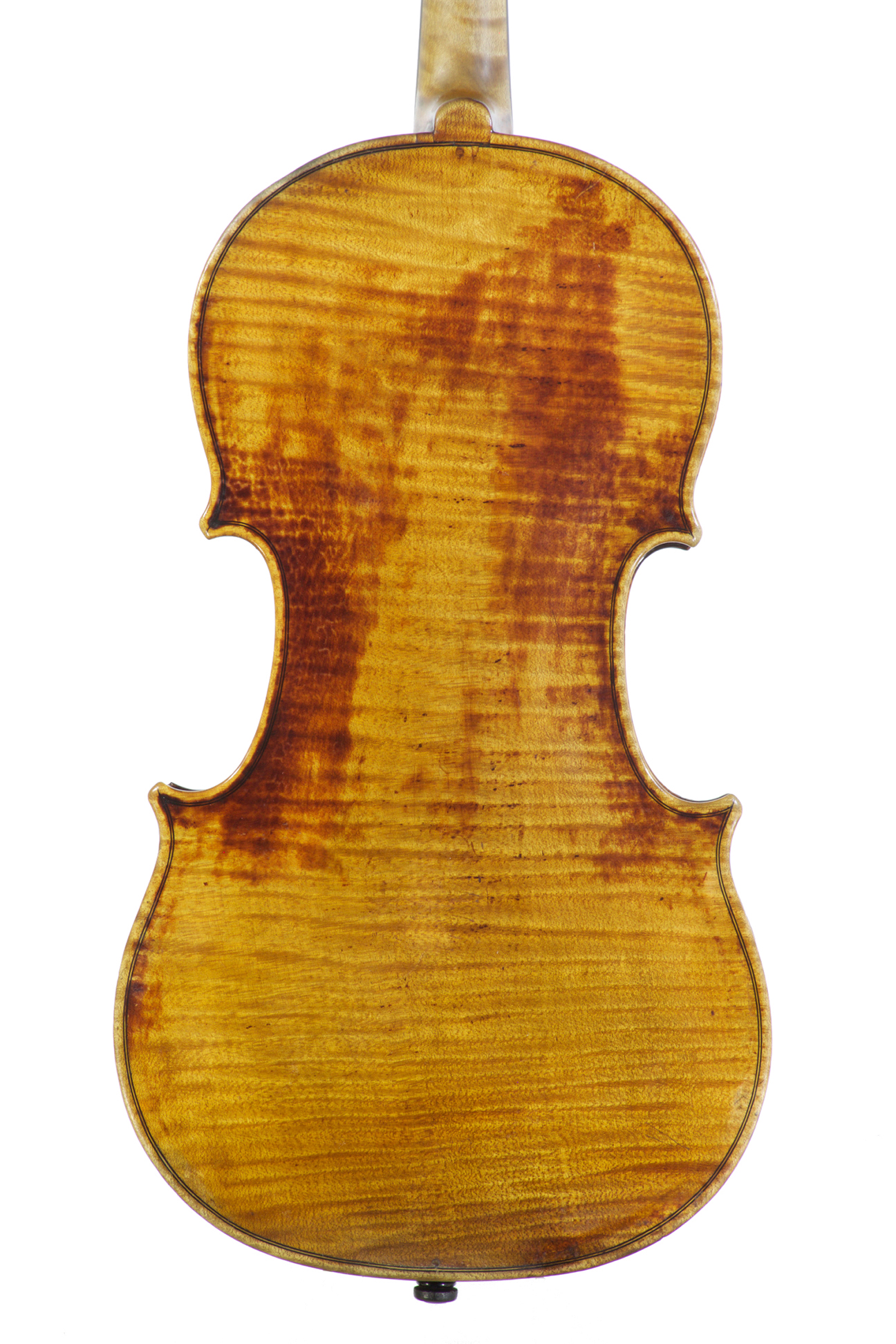 A Violin by François-Louis Pique - Back