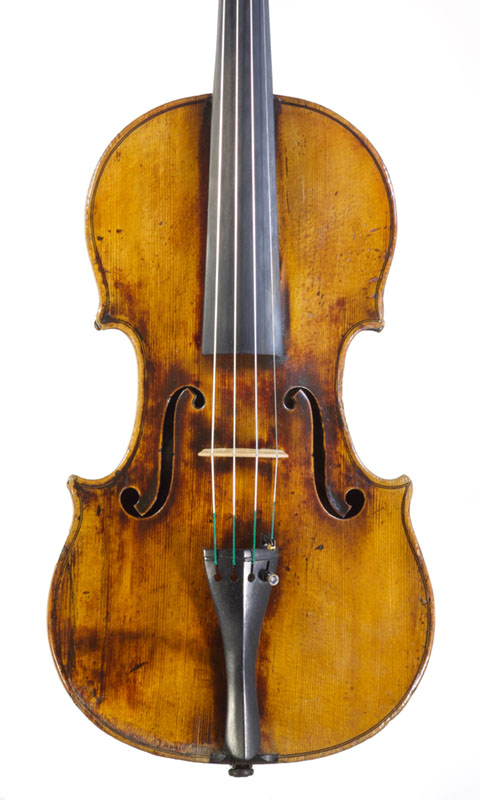 A Violin by François-Louis Pique